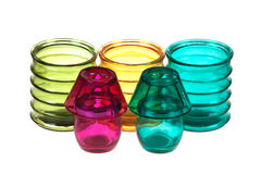 Colored glasses Royalty Free Stock Photography
