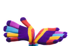Colored glove Royalty Free Stock Photos