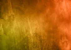 Colored gradient textured background wallpaper for design use. With text or image royalty free illustration