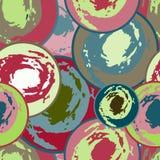 Colored graffiti seamless texture vector illustration Royalty Free Stock Photo