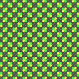 Colored green and yellow spring pattern Royalty Free Stock Photography