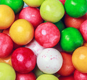 Colored gum Stock Image