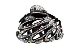 Colored hair-pin isolated Stock Photos