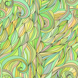 Colored hair waves abstract background Royalty Free Stock Image