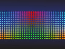 Colored halftone background Royalty Free Stock Image
