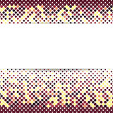 Colored halftone background. Dotted texture Stock Images