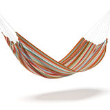 Colored hammock Royalty Free Stock Photography