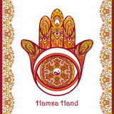Colored Hamsa Hand Stock Images
