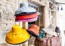 Colored hats Royalty Free Stock Image