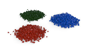 Colored Heaps Stock Image