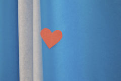 Colored hearts Stock Images