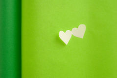 Colored hearts Stock Photos