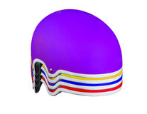 Colored helmets Royalty Free Stock Photos
