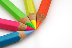 Colored highlighter Royalty Free Stock Image