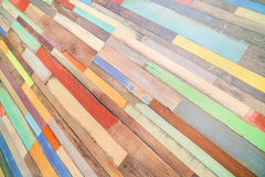 Colored horizontal rectangular tiled background with outlook on Stock Photography