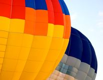 Colored Hot Air Balloons royalty free stock photo