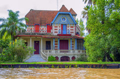 Colored house in Buenos Aires Stock Photography