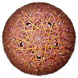Colored hyperbolic tessellation Royalty Free Stock Image
