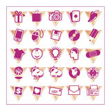 Colored Icon Set 3 - Version3 Royalty Free Stock Images