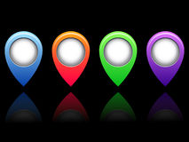 Colored icons Stock Photo