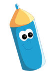 Happy pencil Stock Image
