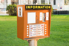Colored information point Stock Photography