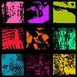 Colored ink spots Graffiti collection. Vector eps 10 Royalty Free Stock Image