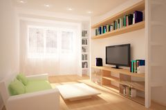 Colored interior Royalty Free Stock Image