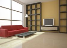 Colored interior concept Royalty Free Stock Photo