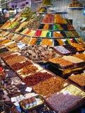 Colored italian shop stock image