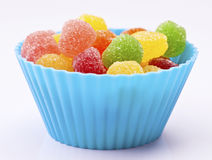 Colored jellies Stock Images