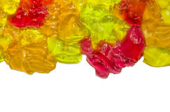 Colored jelly Stock Images