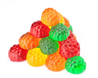 Colored jellybeans Royalty Free Stock Image