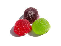Colored jujube Royalty Free Stock Image