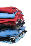 Colored jumper close up Stock Photos