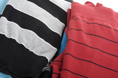 Colored jumper macro Stock Images