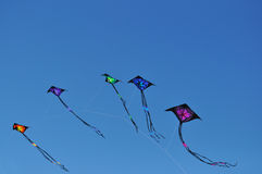Colored kites Royalty Free Stock Photos