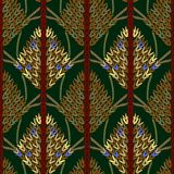Colored knitted openwork background pattern Royalty Free Stock Images