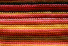 Colored knitting pattern Royalty Free Stock Image