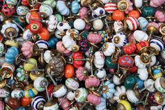 Colored Knobs Royalty Free Stock Images