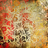 Colored lacy patterns Royalty Free Stock Photos