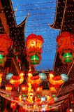 Colored lantern. On street's colored lantern in the Chinese new year Stock Photography