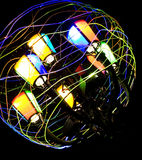 Colored light. For art in illumination Royalty Free Stock Image