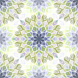 Colored light pattern with vegetative elements. Royalty Free Stock Images