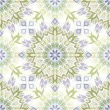 Colored light pattern with vegetative elements. Royalty Free Stock Image