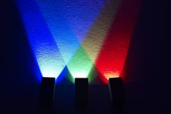 Colored light Royalty Free Stock Photos