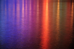 Colored light reflections Royalty Free Stock Photos