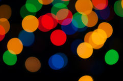 Colored lights Stock Photography