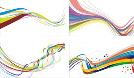 Colored lines Stock Photos