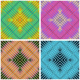 Colored lines beautiful background collection of vector illustration. (vector eps 10 Stock Photo